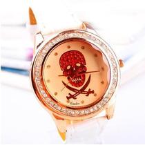 Relogio Fashion Pirate Skull