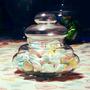 Bombonera Apilable 1unid C/tapa Candy Bar Frasco Tarro