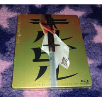 Kill Bill Vol.1 - Bluray Edicion Limitada Steelbook Importad