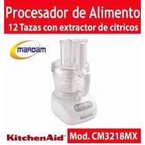 Procesador De Alimento Con Extractor 12 Tazas Kitchenaid