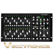 Controlador Dmx Con 512 Canales Conecta Hasta 100 Luces Woow