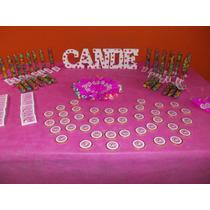 Candy Bar Bautismo Comunión Nacimiento Aniversario 15 Años