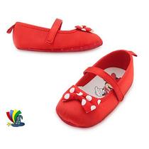 Zapatos Disfraz Mimi Minnie Mouse Bebe Original Disney Store