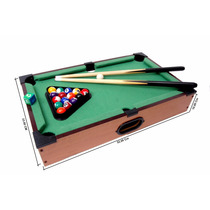 Tabletop Mini Pool Mesa 51cm X 31cm X 10cm Alto