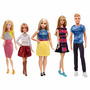 Muñecas Barbies Fashionistas 2016 Reales Varios Modelos Usa