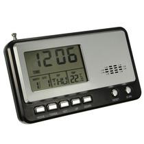Relógio Digital De Mesa Com Rádio Am E Fm
