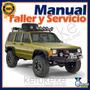 Manual De Taller Y Reparacion Jeep Cherokee 1984-1996 Ingles