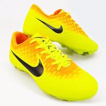 Chuteira Futebol Campo Nike Magista Onda Thiago Silva Iniest