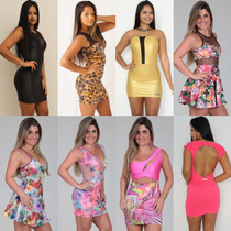 Kit 10 Vestidos Juju Roupa Feminina Atacado Revenda + Brinde