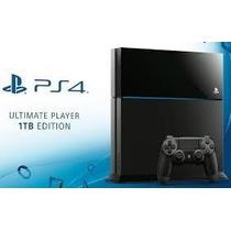 Playstation 4 1tb Ps4 1000g Lançamento Menor Preço 1216a