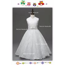 Vestido Primera Comunión Bautizo Fiesta Matrimonio Paje