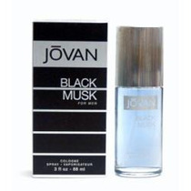 Perfume Jovan Black Musk For Men Colonia 88 Ml