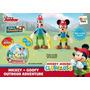 Educando Casa Mickey Mouse Goofy Playset Aventuras