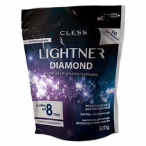 Lightner Diamond Pó Descolorante 300g Perfumado