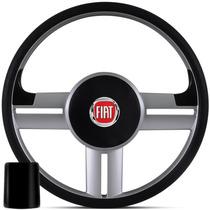 Volante Esportivo Fiat Rallye Palio Uno Fire Stilo + Cubo