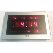 Reloj De Pared Chico,calendario 23x15cm Grenelectronic Chile