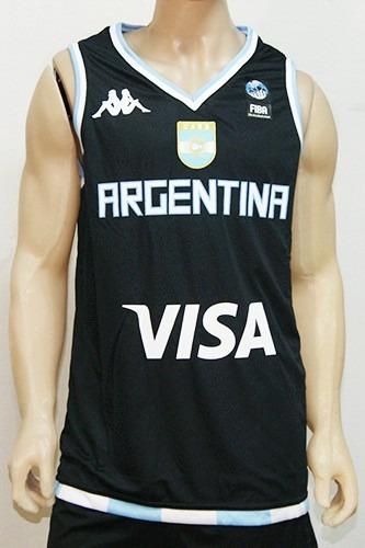 Camiseta De Seleccion De Basket De Argentina Suplente Kappa -   799 ... 9bcae4b9cd078
