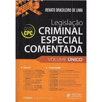 Legislação Criminal Comentada Renato Brasileiro 2016 Pdf