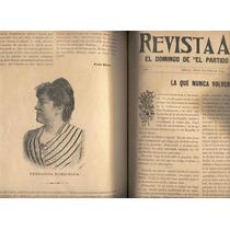 Revista Azul. El Domingo Del Partido Liberal. Tomo I. 1894.