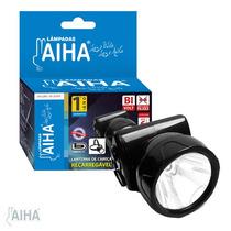 Lanterna De Cabeça Super Led Recarregável 130 Lumens Aiha