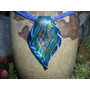 Collar En Chakiras Con Dije En Cristal Murano