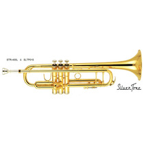 Trompeta Silvertone Bb Doble Poste Tipo Vicent Bach Sltp015