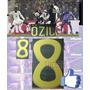 Estampado Alemania Visita 2010-2011 #8 Özil