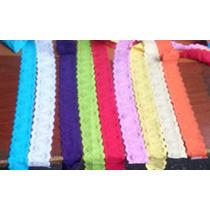 Encaje Elastico Ancho Y Delgado Variedad De Colores