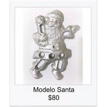 Molde Para Buñuelo De Viento Modelo Santa Papa Noel