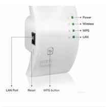 Repetidor Amplificador Melhora Sinal 300mbps Wifi