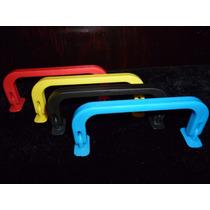 Asas De Plástico Inyectado Rigida (colores) Bolsa C/100pzs