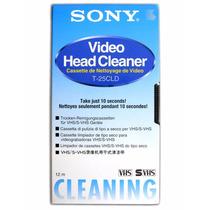 Fita De Limpeza Vhs Video Cassete Cabeçote - Sony Original