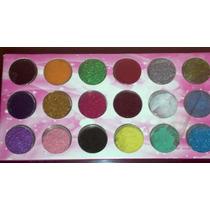 Decoración Uñas Peluche Terciopelo Velvet Set 18 Colores Mn4