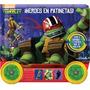 Tortugas Ninjas Héroes En Patineta. Nickelodeon. Dial
