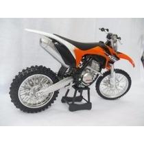 Miniatura Moto Ktm 350 1:12 Motocross Velocross Oferta