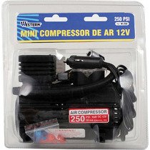 Mini Compressor Ar Pneu Carro Moto Bike E Infláveis Xw-250