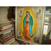 Precio A Tratar - Óleo Sobre Lámina - Virgen De Guadalupe