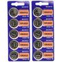 10 Baterias 3v Cr-2032 P/ Total Shape Ab Tonner Sony 2032