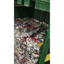 Equipo Prensa Compactador Aluminio Pet