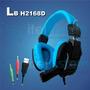 Audifono Gamer Usb Con Microfono Led Itelsistem