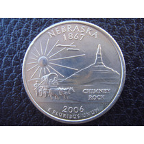U. S. A. - Nebraska, Moneda De 25 Centavos (cuarto), 2006