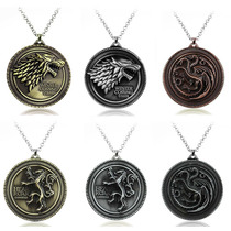 1 Collar Game Of Thrones Casa Stark Juego De Tronos Targarye