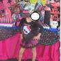 Roupa Vestido Fantasia Festa Aniversário Monster High