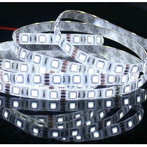 Luminária Para Aquário Fita Led 5050 Branco Frio 1 Metro