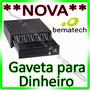Gaveta De Dinheiro Bematech Black - Automática E Manual