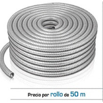 Tubo Flexible Metalico De 3/4 Marca Voltech Manguera Oferta