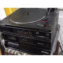 Toca Disco Gradiente Com Adesivo Original Com Defeito.