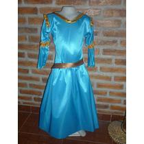 Disfraz De La Princesita De Valiente Merida. Muy Lindo!!!