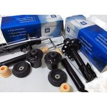 4 Amort Gm + Kits Originais Meriva + Kit Correia Dentadas
