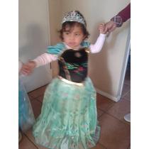 Disfraz De La Princesa Ana De Frozen